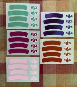 DJI Phantom 3 Stickers Part #82 Set  - US Seller Set of 5 St