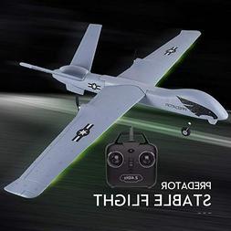 predator drone model rc flying powered glider