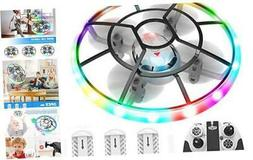 Q7 Mini Drone for Kids Beginners,RC Helicopter Quadcopter wi