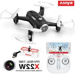 RC Drone Quadcopter Syma X22W with HD Camera Wifi FPV Hoveri