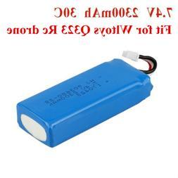 Rechargeable 7.4V 2300mAh Li-Po Battery Pack Plug for Kids R