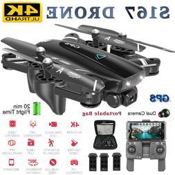 S167 Pro GPS RC Drone with 4K HD Camera 5G WIFI FPV Drone Wa