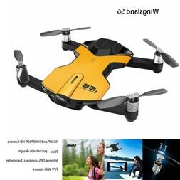 Wingsland S6 RC Quadcopter WiFi FPV 4K HD Camera Drone 6-Axi