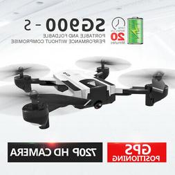 SG900-S GPS RC Drone with Camera 720P Wifi FPV Follow Me Sur