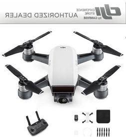 DJI Spark Drone Quadcopter White CP.PT.000731 and DJI Remote