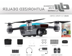 DJI Spark Fly More Combo enhanced bundle Drone Blue includes