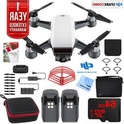 DJI SPARK Fly More Drone Combo Alpine White - CP.PT.000899 U