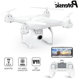 Potensic T25 GPS Drone FPV RC Quadcopter 1080p HD Camera WiF