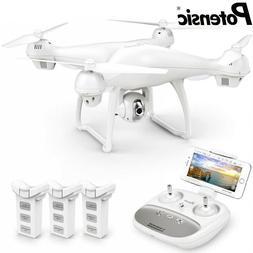 Potensic T35 GPS Drone FPV 1080P HD Camera RC Quadcopter Fol