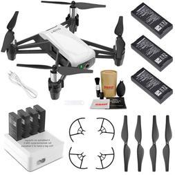 Tello Drone Quadcopter Elite Combo with 3 Batteries, 4 Port