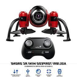 Kolibri Torpedo Mini RC Drone for Kids & Beginners, Best Sma