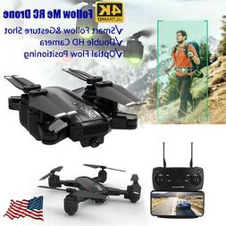 HR WiFi FPV RC Drones with 4K HD Camera Aircraft Quadcopter