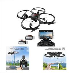WIFI Unmanned Aerial Vehicles UAVs FPV Version U818A Drone W