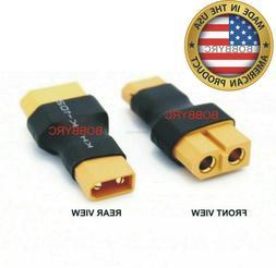 Bobbyrc No Wires Connector XT60 XT-60 Female To XT30 XT-30 M