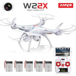 Syma X5SW 2.4G RC Drone with WIFI HD Camera FPV Real Time RC