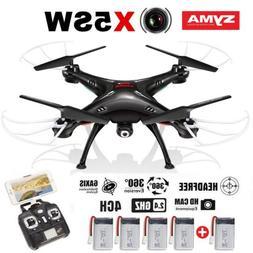 SYMA X5SW Explorer RC Quadcopter Wifi HD Camera FPV Flash Li