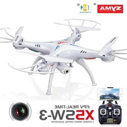 Syma X5SW-V3 Wifi FPV Explorers 2.4Ghz 4CH RC Quadcopter Dro