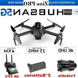 Hubsan ZINO PRO Drone 4.5KM FPV 4K Camera Foldable Quadcopte