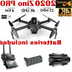 Hubsan Zino PRO 4KM Drone GPS 4K FPV 5G APP 3Gimbal Foldable